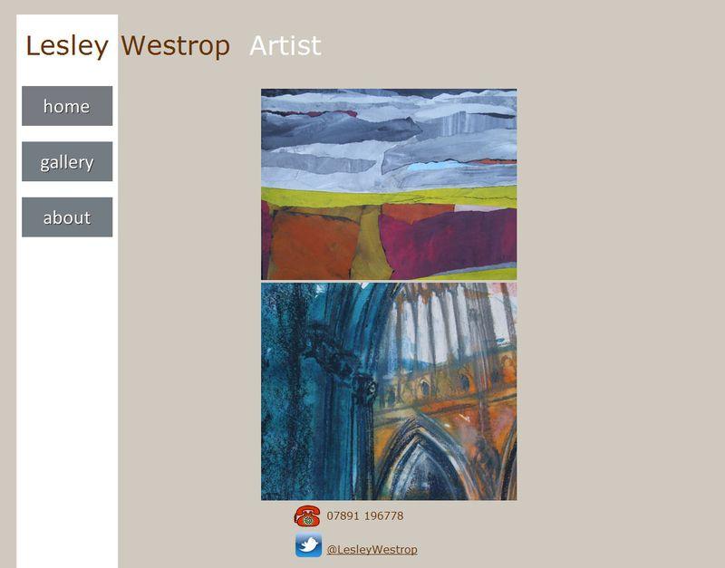 Lesley website